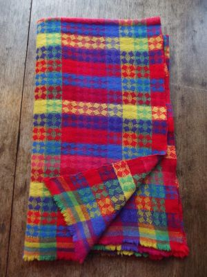 woven blanket by Steve Attwood-Wright